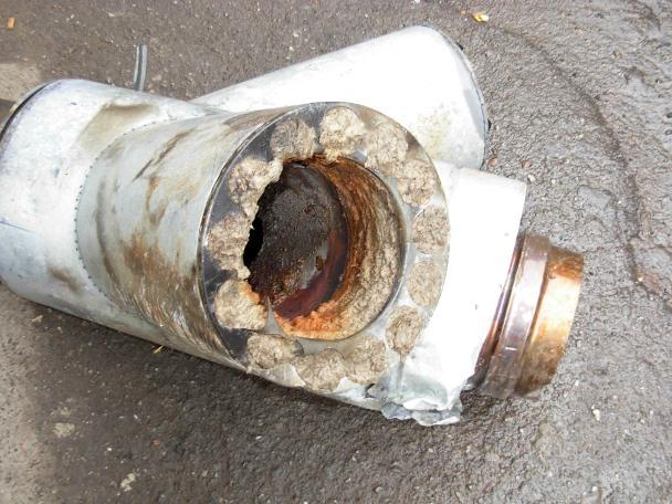 Котел опалення витяжна труба тече. Конденсат в трубі димоходу-причини появи і способи усунення проблеми