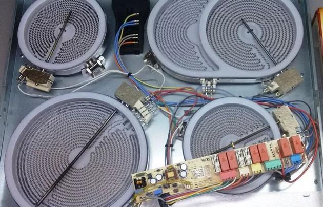 Як зняти варильну панель зі стільниці bosch. Як встановити вбудовану варильну панель в стільницю? ремонт газової варильної панелі