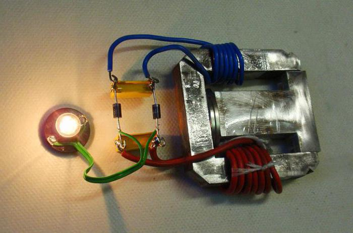 Експеримент з вилучення енергії з поля постійного магніту. Генератор вільної енергії: схеми, інструкції, опис електрика з магніту