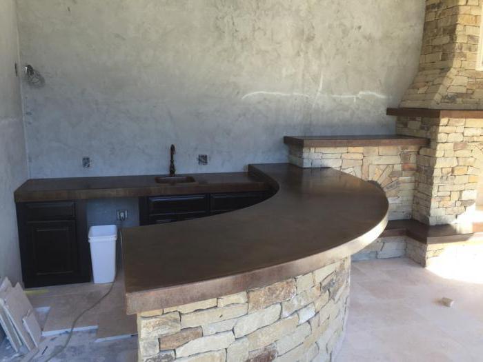 Як зробити раковину з бетону своїми руками. Стільниця з бетону-робимо своїми руками