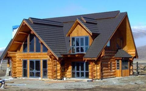 Незвичайні будинки з дерева. Незвичайний деревяний будинок