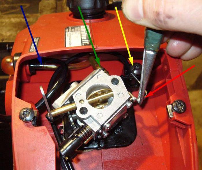 Бензопила stihl ms 180 не розвиває обертів. Пила штиль не набирає обертів