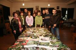 Сад олени сєдової. Декоративний ставок в саду-відео
