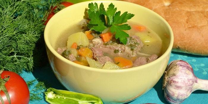 Шулюм з дикої качки: рецепт приготування. Мисливський суп шулюм
