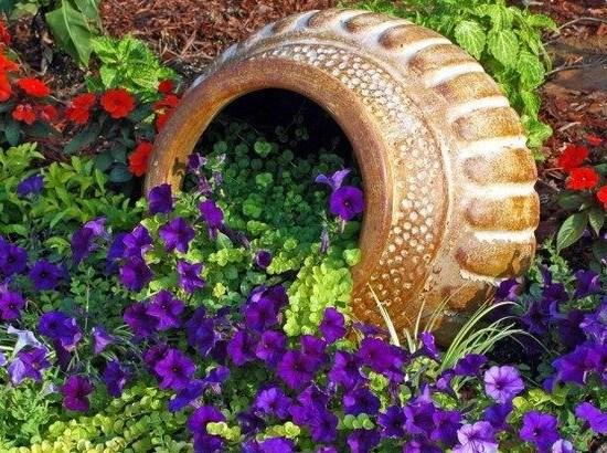 Секрети дизайну красивих клумб: як зробити «квітковий струмок. Тонкощі створення декоративних струмків на ділянці клумба річка з квітів