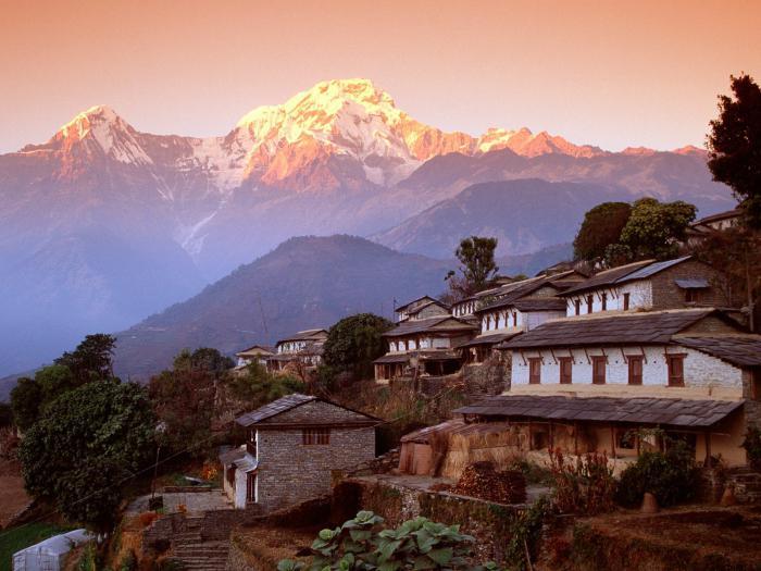 Відкрити ліве меню гімалаї. Непал, гори гімалаї-найвищі гори на землі