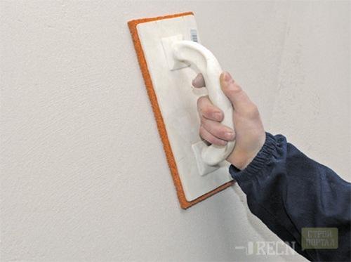 Штукатурка піщаним розчином по пінопласту. Як робиться штукатурка по пінопласту і екструдованому пінополістиролу