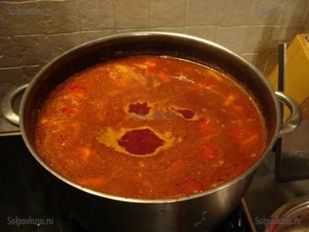 Простий рецепт борщу по-домашньому-перша страва на всі часи. Рецепти для початківців: як зварити смачний борщ