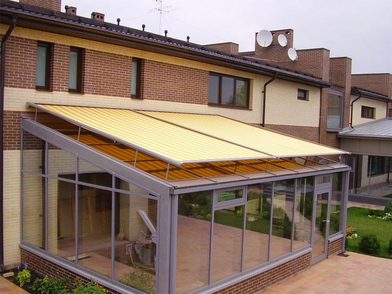 Вентиляція, опалення та захист від сонця для зимових садів. Оцинкована підсистема