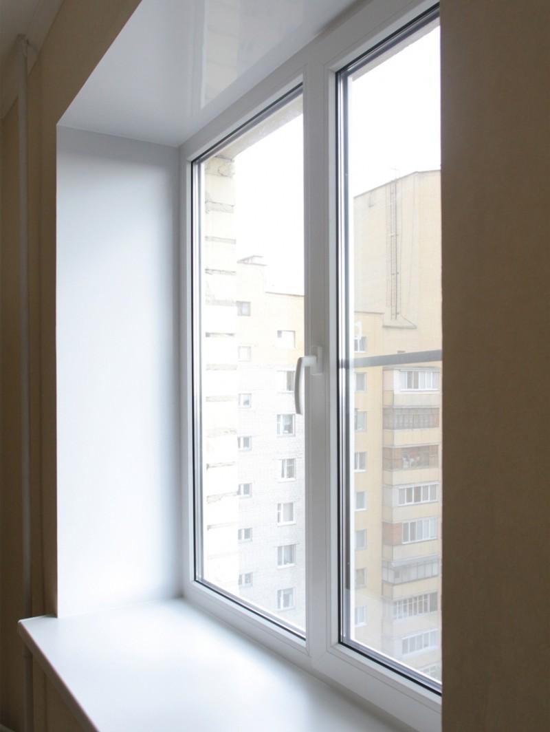 Кут світанку віконних укосів градусів. Правильний розворот віконного укосу