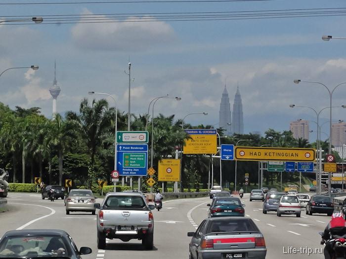 Як дістатися з аеропорту куала-лумпур до центру міста і в зворотному напрямку.