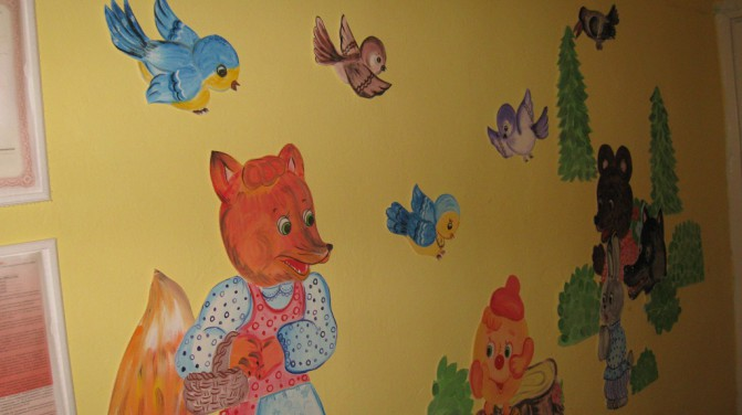 Інтерєр дитсадка. Навчальні центри (дитячі садки) - дизайн інтерєру навчальних центрів - дитячі садки