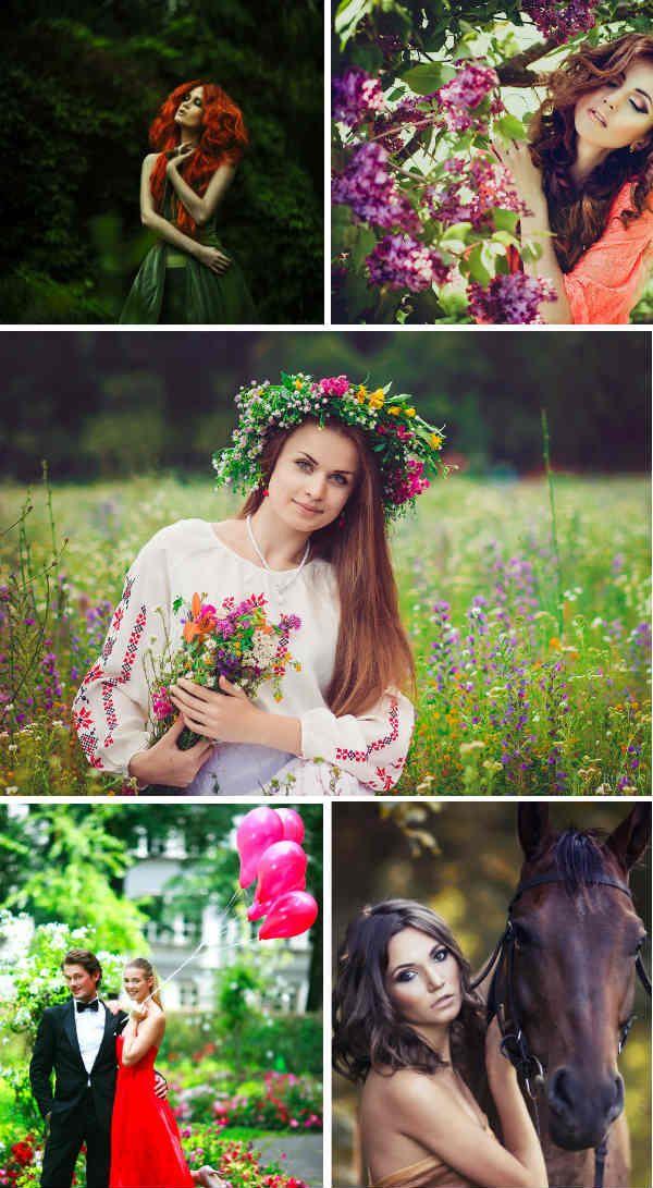 Як фотографувати дівчат на природі. Кращі пози для фотосесії на природі