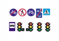 Дітям про знаки дорожнього руху. Дорожні знаки для дітей