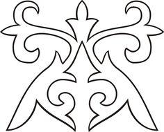 Трафарети візерунків для серветок роздрукувати. Трафарети для декору своїми руками: шаблони і особливості їх виготовлення