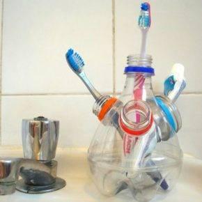 Що можна зробити з круглої пластикової пляшки. Вироби з пластикових пляшок-витончена простота