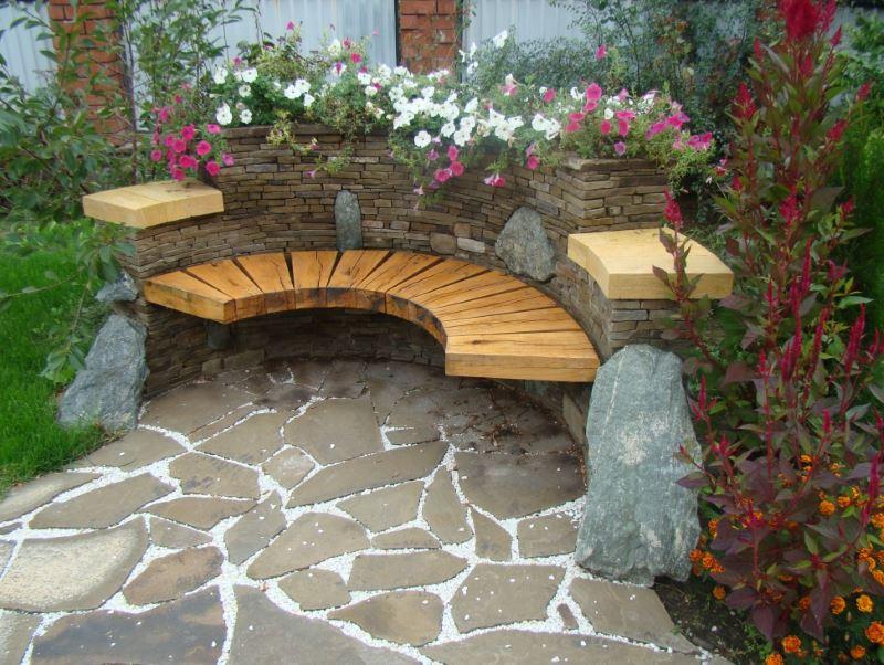 Ландшафтний дизайн малих садів. Ландшафтний дизайн маленького дачної ділянки