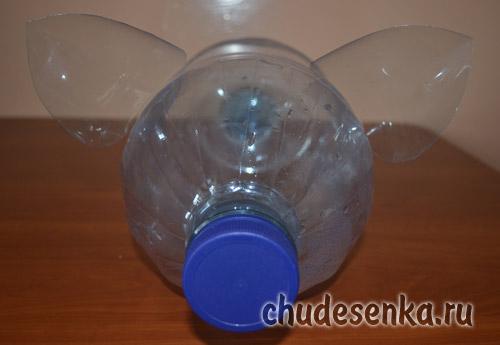 Як робити свиню з пластикових пляшок. Керівництво по створенню порося з пластикової пляшки