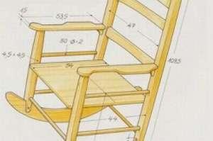 Як змайструвати деревяне крісло-гойдалку: облаштовуємо місце для відпочинку. Крісло-гойдалка своїми силами в домашніх умовах крісло качалка з профілю своїми руками