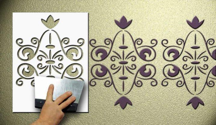 Трафарети для декору підїзду своїми руками шаблони. Використання трафаретів в інтерєрі: фото, різновиди