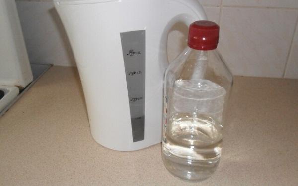 Видалення накипу оцтовою кислотою. Як очистити чайник від накипу оцтом